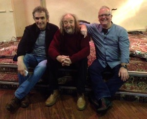 Jez, Vin and Pete